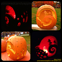 The Nightmare Before Christmas Pumpkin Carving 2 by OdieFarber
