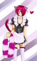 Boris Airay as a maid 2011 version by Neicha-chan