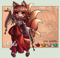 Kitsune Adopt Auction -CLOSED- by iKiska