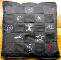Quilted Pillowcase by Athalour
