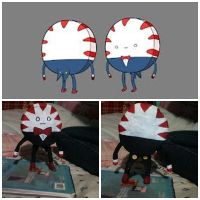 My Paper Mache Peppermint Butler by MayTruthBeTold