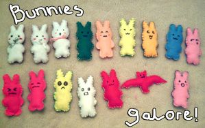 Bunnies Galore by yamacheero