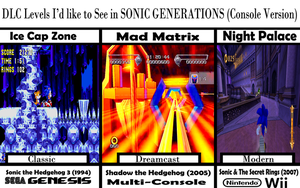 Sonic Generations DLC WishList by spdy4