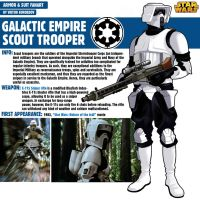 Scout Trooper Star Wars by Pino44io