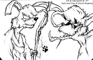 Jack and Drip by Xander-Wolf