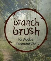 Adobe Illustrator Spooky Branch Brush by shereelouise