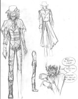 Finalized Scarecrow Design by CarpalTunnelLuv