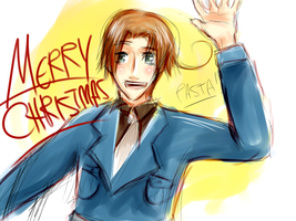 Merry Christmas Tatertot by goldenthyme