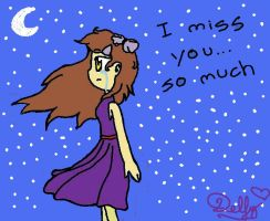 I miss U by Luna-Mishuemoon
