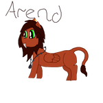 Arend - LC Custom for CrystalClusterStable by cheesepuff2