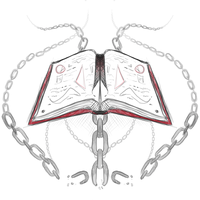 Crest Sketch 29: Tome/Book/Grimoire by andarix