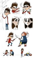 ParaNorman Sketch Dump by QGildea