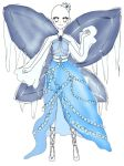 Smowflake Royalty Mystic Sapphire Artic Coord by aliciadreamart