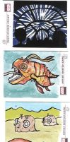 Sketch Cards 3 by kettleart