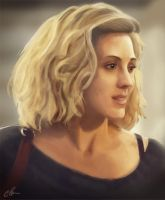 Delphine Cormier by c-a-y