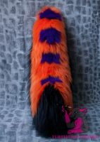 shadowpelts tail close up by FurryFursuitMaker