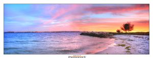 Swan River Sunset by Furiousxr