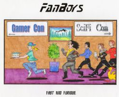 Fast and Furious (fandom) by QuickSilverArtist