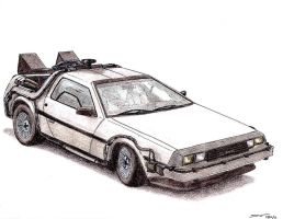 1981 DeLorean DMC-12 BTTF by TwistedMethodDan
