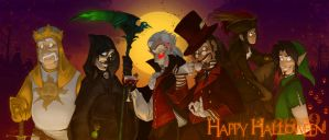 All Hallows '09 by Altalamatox