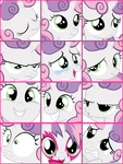 Sweetie Belle User Icons V1 by ShelltoonTV