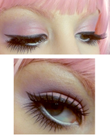 pink brows n fairy eyes by VanillaBlitz