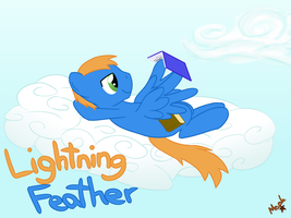 Lightning Feather by CuriousPony