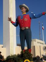 Big Tex at the State Fair by Texas-Guard-Chic