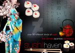 Photomanip: Sushi Brochure by ziksan