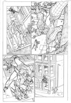 Marvel sample page by tromaman