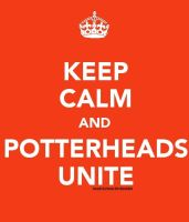 Keep Calm: Potterheads by berquinn