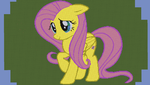 Giant Fluttershy in Minecraft by snowconee