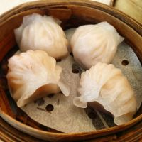 Steamed Prawn Dumplings by nosugarjustanger