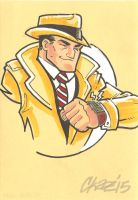 Dick Tracy by cmkasmar