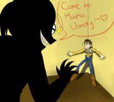 Come to Mama, Woody by lizbomb