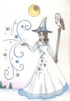 Winter Witch by Spiralpathdesigns