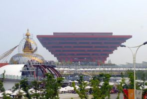 India and China Pavilions by BlueMoose07