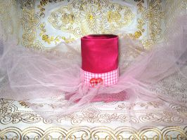 Candy Pink Lolita Hat by VandLee