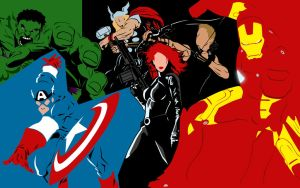 The Avengers by indescribable182