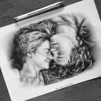 The Fault In Our Stars drawing by johanne-art