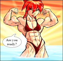 Kiva the bodybuilder by Ritualist
