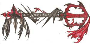 New Faux Keyblade? by FiendRaphael