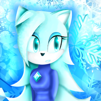 Crystal the Cat: (Art Prize For RedEyedMedic) by MissAquaAnime