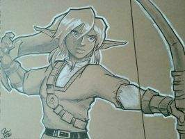 Link sketch by crystachick