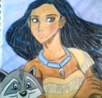 Pocahontas by mistresscarrie