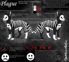 Plague reference sheet by SpitfiresOnIce