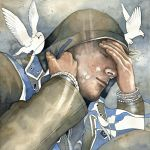 Dreams of freedom, watercolor by jane-beata