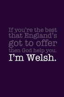 I'm Welsh. by inkandstardust
