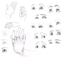 HANDS / EYES by Mordekaih