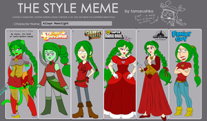 The Style Meme by AilwynRaydom